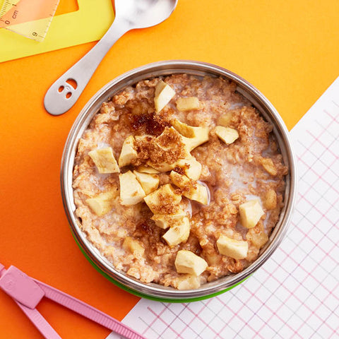Homemade Apple and Cinnamon Porridge