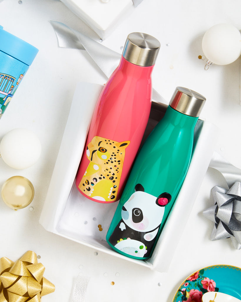 Pete Cromer insulated drink bottles