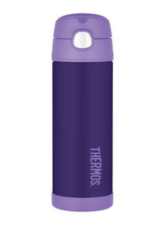 THERMOS Funtainer Vacuum Insulated Drink Bottle Purple 470ml