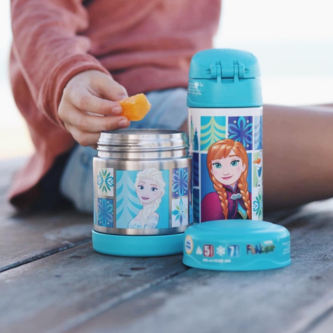 THERMOS Funtainer Vacuum Insulated Food Jar 290ml - Disney Frozen