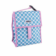 Avanti Yum Yum Lunch Cooler Bag - Lattice Blue/Pink
