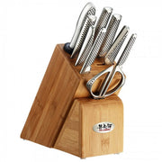Global 10 pce Takashi Cutlery Block Set