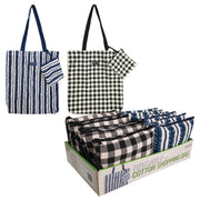 Sachi Cotton Shopping Bags 2 Assorted Designs