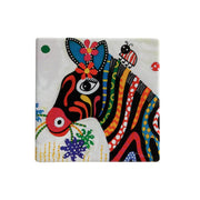 Maxwell & Williams Smile Style Ceramic Tile Coaster Stripes 9cm