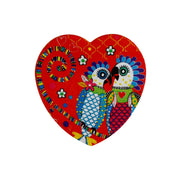 Maxwell & Williams Love Hearts Heart Coaster 10cm - Fan Club