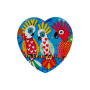 Maxwell & Williams Love Hearts Heart Coaster 10cm - Chatter