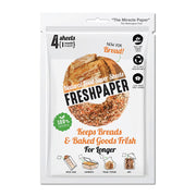 Freshpaper Natural Food Saver Sheets Pack Of 4 - Bread