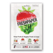 FreshPaper Natural Food Saver Sheets Pack Of 4 - Produce
