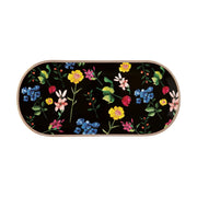 Teas & C's Contessa Oblong Platter 42x19.5cm - Black