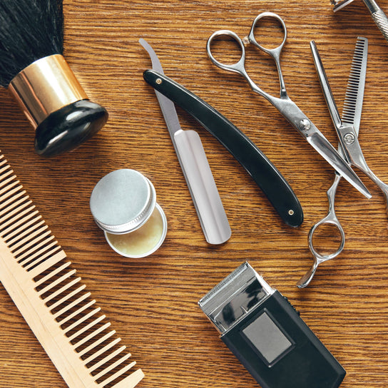 grooming tools and supplies