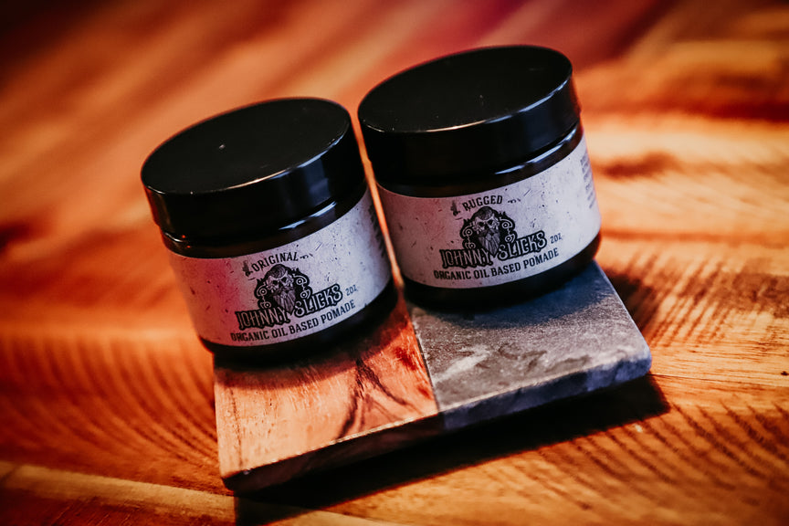Oil Based Pomade Duo