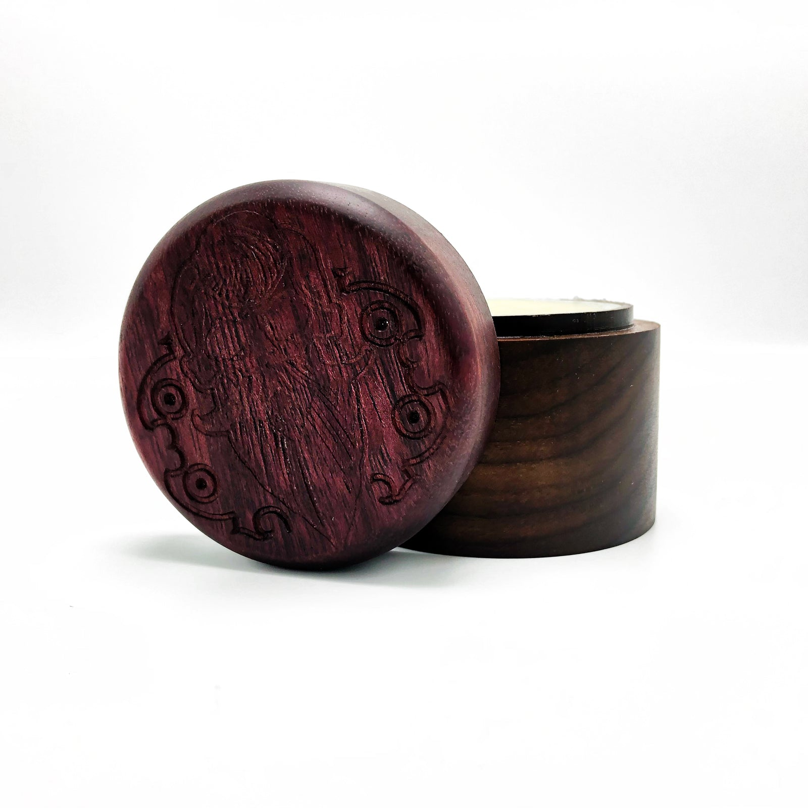 Limited Edition Wooden Pomade Jar