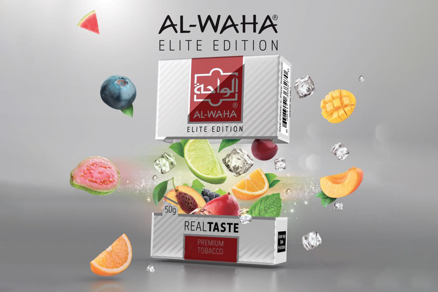 Image of Al Waha shisha tobacco flavours available from Shisha Works