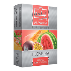 Image of Al-Waha I Love 69 shisha tobacco