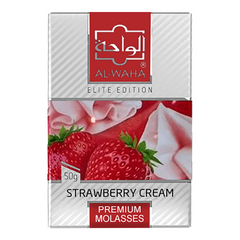 Image of Al-Waha Strawberry Cream shisha tobacco