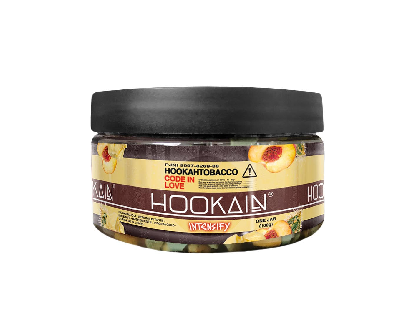 HOOKAIN INTENSIFY STONES - CODE IN LOVE 100g