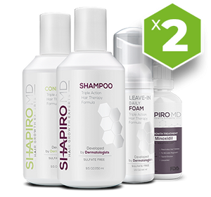 2X Supply - Shapiro MD, Hair Regrowth System
