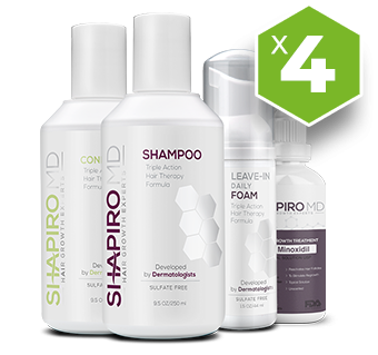 4X Supply - Shapiro MD, Hair Regrowth System