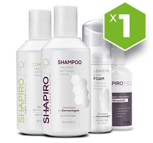 1X Supply - Shapiro MD, Hair Regrowth System