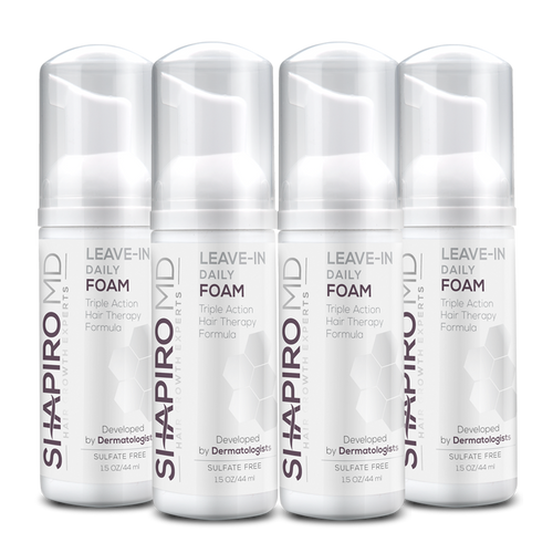 Leave-in Daily Foam (4 Bottles)