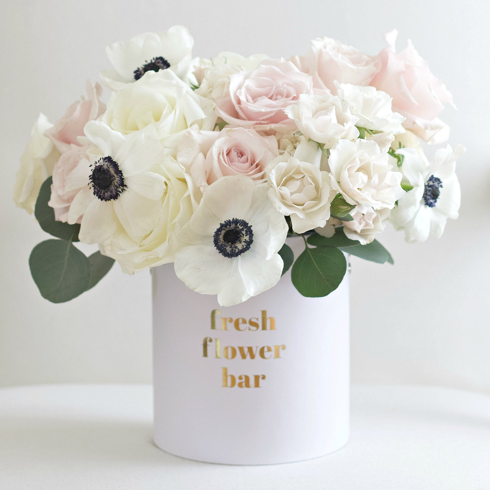 White Russian Fresh Flower Bar