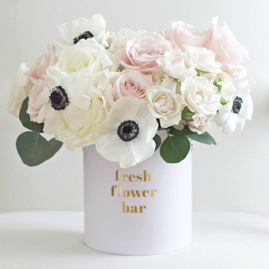 White Russian - Fresh Flower Bar