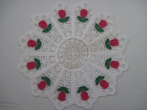 Embroidered Doily