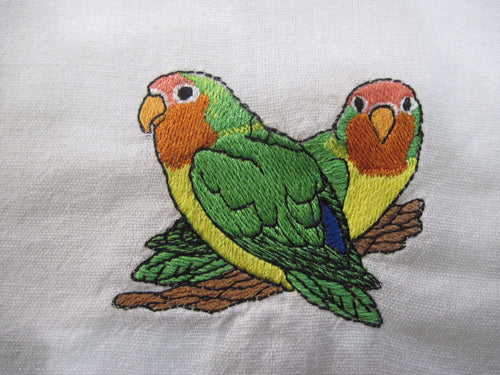 Embroidered Dish Towel