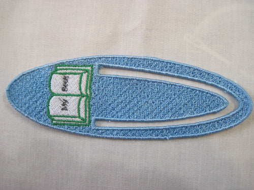 Embroidered Book Marker
