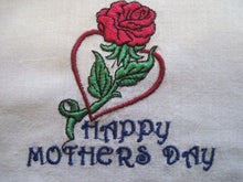 Embroidered Dish Towel with Free Shipping