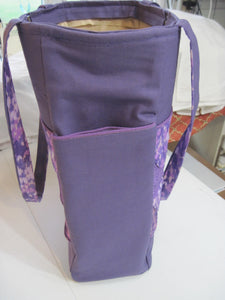 Handbag With Pockets on the sides