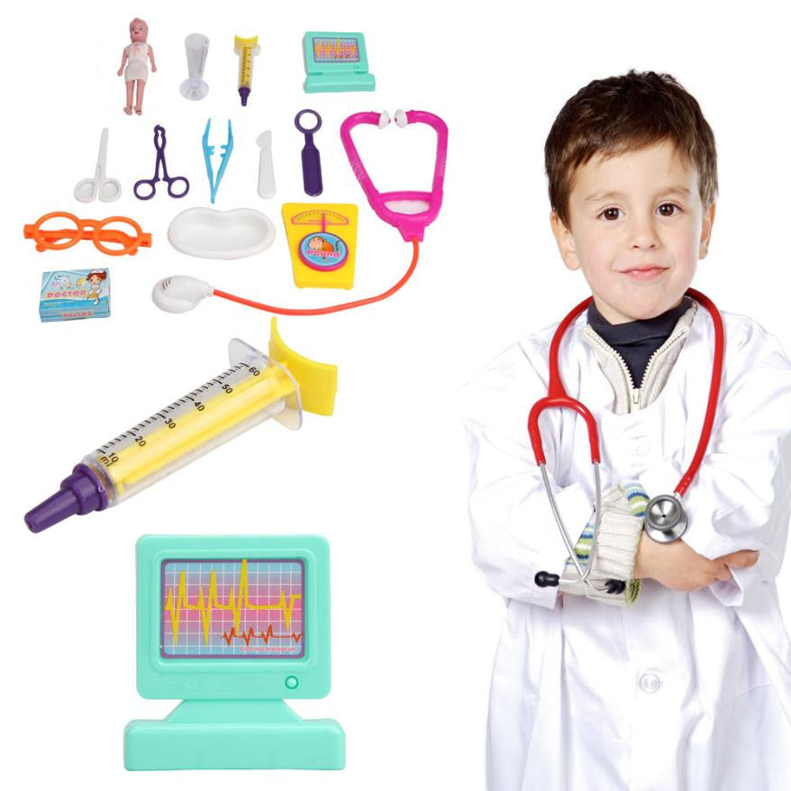 Hot simulation Doctor toy Kids Doctor Medical Play Doctor Toys Set Education Role Play Pretend Play Toys for children