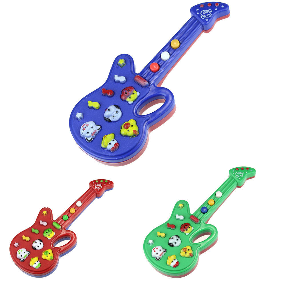 Children Toys Electronic Guitar Toy Nursery Rhyme Music Children Baby Kids Gift Baby Early Educational Plastic Toy High Quality