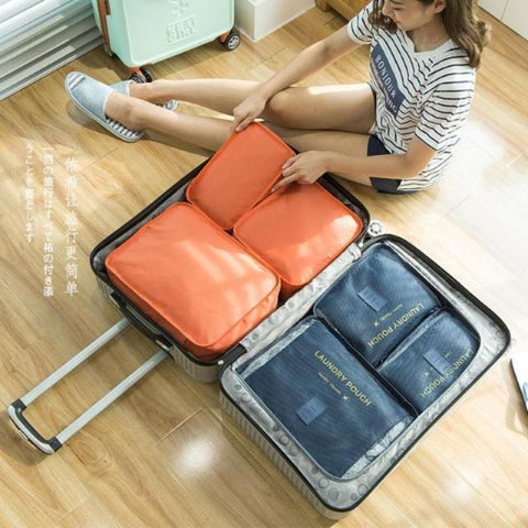 Packing Cube Set (6 pc)