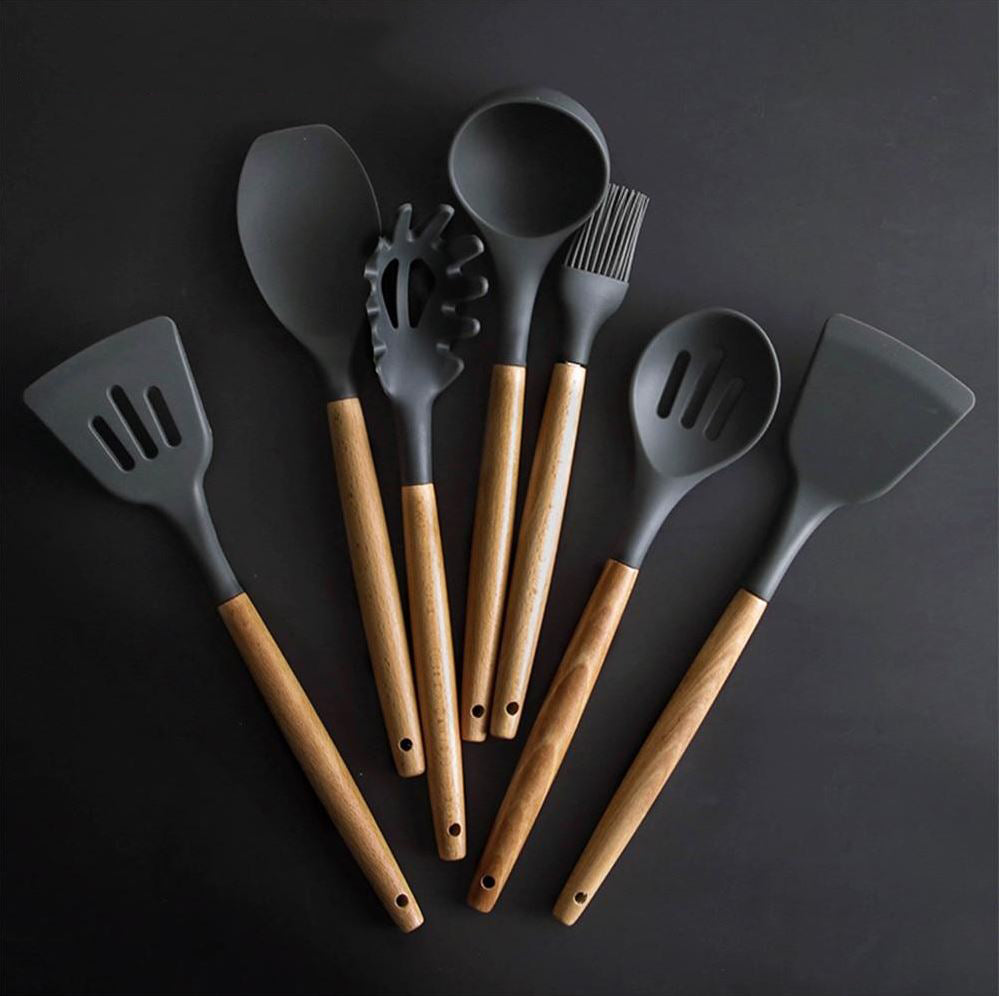 High-Grade Silicon Kitchen Utensil Set