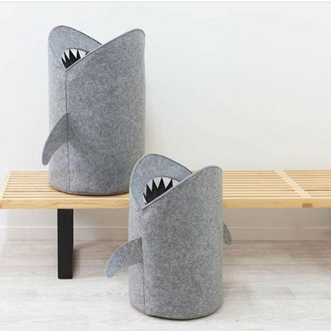 Felt Shark Storage Basket