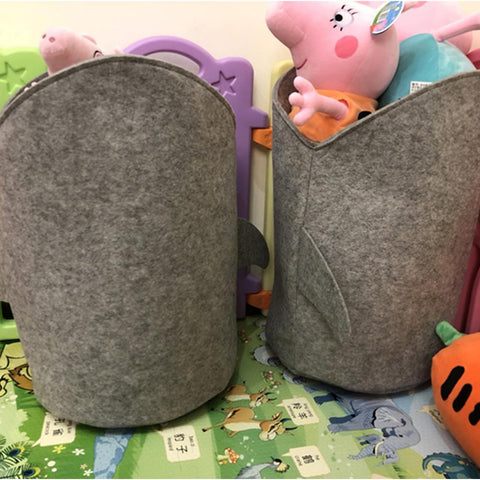Image of Felt Shark Storage Basket