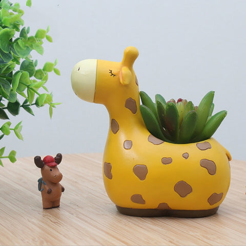Image of Animal Flower Pot
