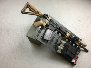 "RIP-M Rear seat MOLLE panel 12.25"" X 21"""