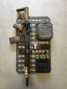 "RIP-M Rear seat MOLLE panel 15.25"" X 25"""