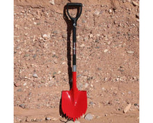 Krazy beaver shovel red with black handle
