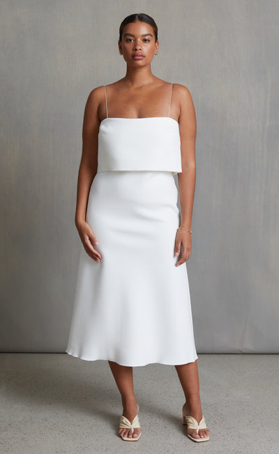 FOREVER YOUNG DRESS - IVORY