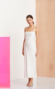 THE DREAMER MIDI DRESS - IVORY