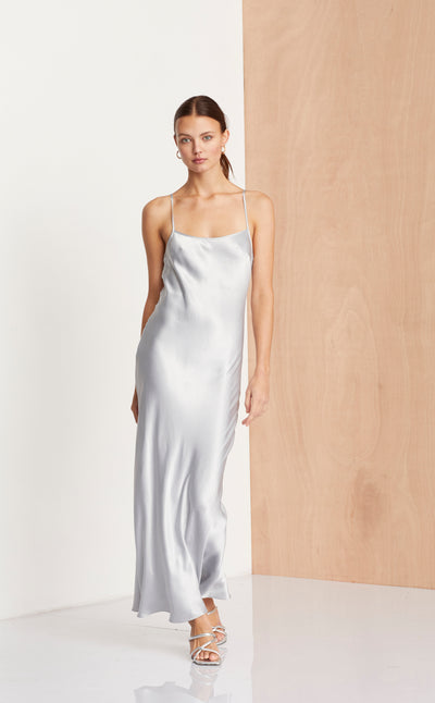 MIDNIGHT DANCE DRESS - SILVER