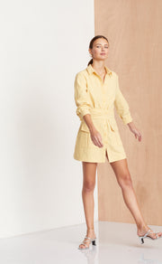 SWEET PEA SAFARI DRESS - HONEY