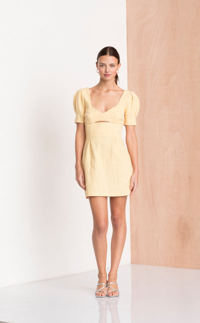 SWEET PEA DRESS - HONEY