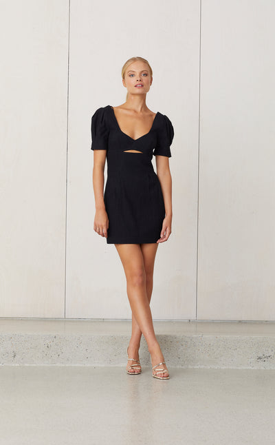SWEET PEA DRESS - BLACK