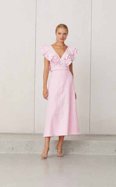 BISOU BISOU DRESS - BLUSH