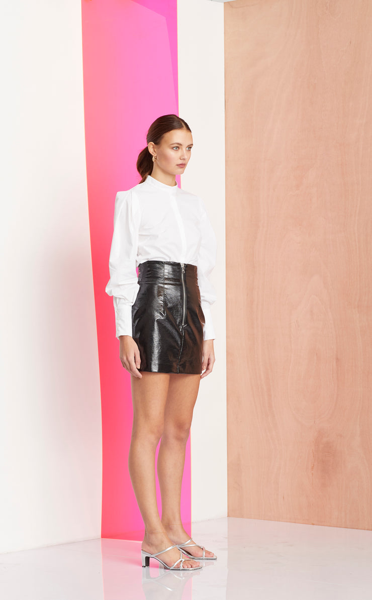 L'AMOUR CLUB SKIRT - BLACK