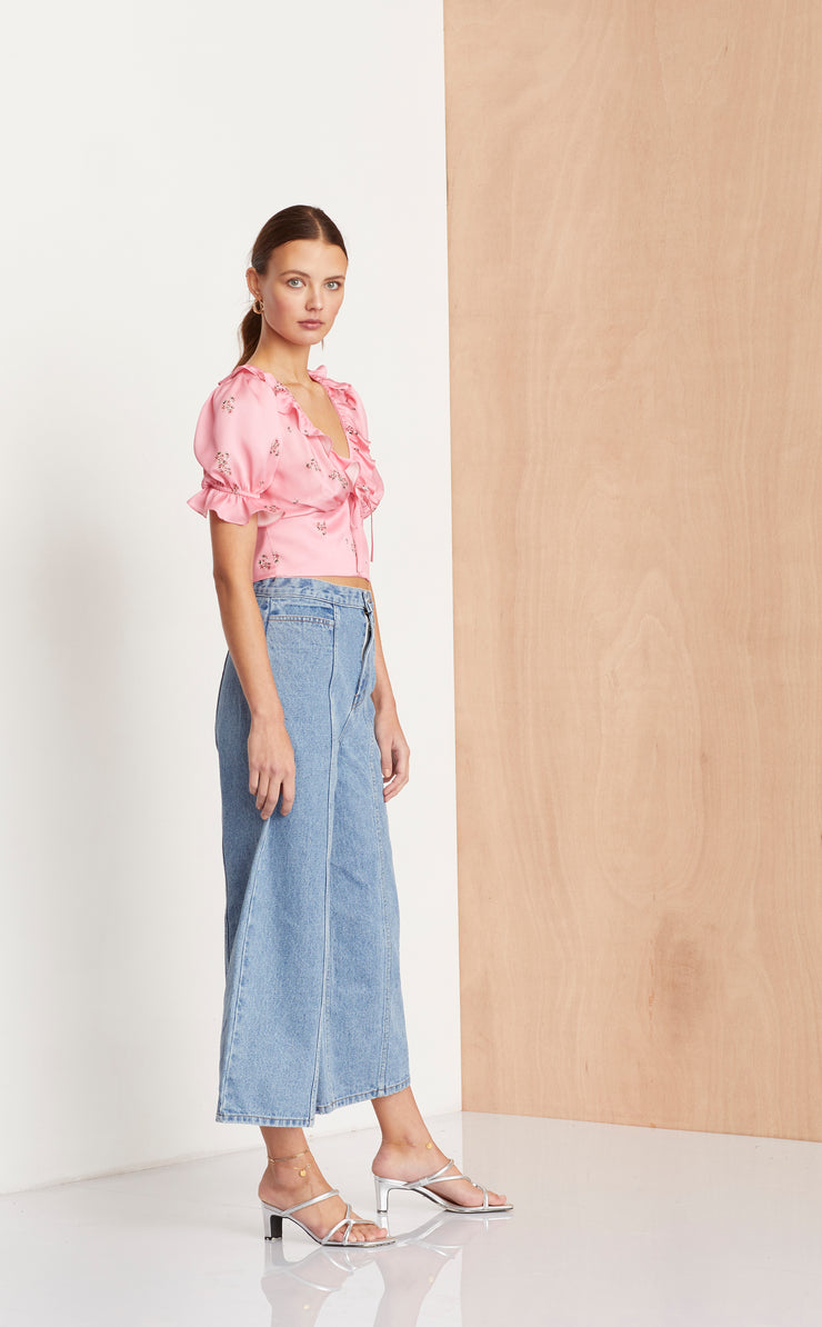 BLUE JEAN BABY CULOTTE - DENIM